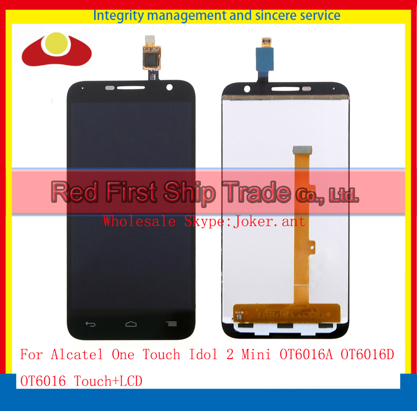 4.5 For Alcatel One Touch Idol 2 Mini OT6016A OT6016D OT6016 Full Lcd Display Touch Screen Digitizer Panel Assembly Complete