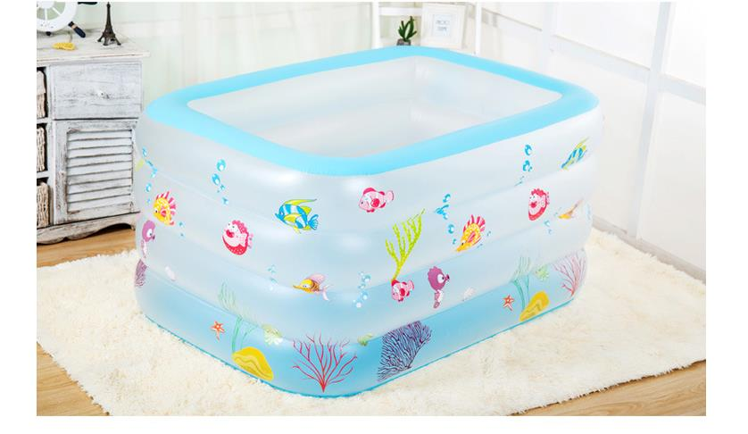Mini Jacuzzi Bathtub.Us 72 35 6 Off Portable Baby Swimming Pool Inflatable Kids Bath Tub 125x75cm Baby Mini Playground Eco Friendly Pvc Pond Kids Holiday Gifts In