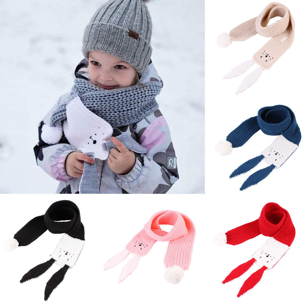 Children's LIC New Autumn Winter Boys Girls kids Cute Scarf Cotton O Ring Neck Scarves Winter Scarf Baby Children Wool [available with 10 11] scarf lic noryalli