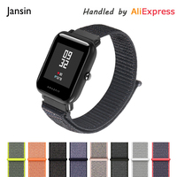 JANSIN Nylon Sport Strap For Xiaomi Huami Amazfit Bip BIT PACE Lite Youth Smart Watch Wearable