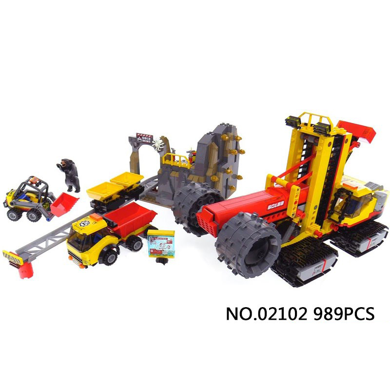 New city engineering Mining expert base building block Miner worker figures Mining car truck bricks 60188 toys for kids gifts human performance engineering легинсы