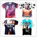 Verão homens / mulheres Rap padrinho 2pac tupac t de impressão 3d hip hop S-XXL