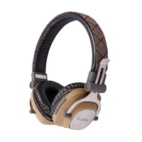 Aibesser traditional retro style best bluetooth headphones with mic MP3 high quality bluetooth headphones earpiece for school