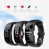 ECG Smart Watch Men Blood Pressure Heart Rate Monitor Activity Tracker Fitness Bracelet Clock Waterproof Women