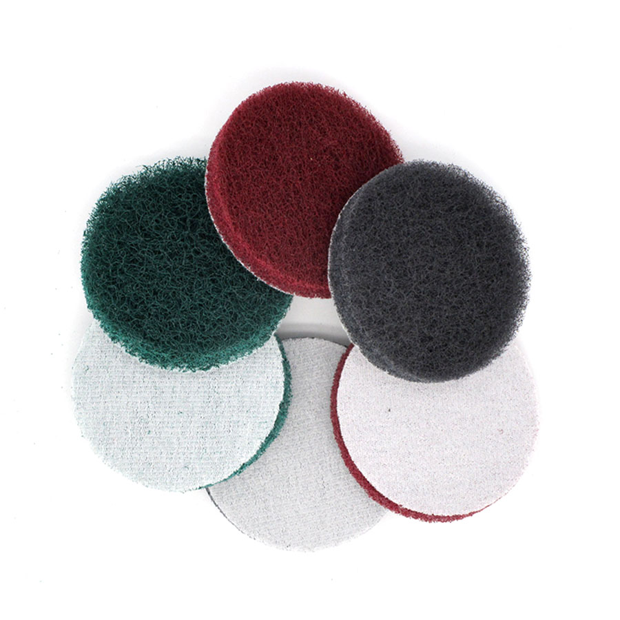 2 Inch <font><b>3</b></font> Inch 4 Inch <font><b>7</b></font> Inch Polishing Scouring Pad 240 400 <font><b>800</b></font> Grit Hook Loop Cleaning Disc Sandpaper Self-sticking image