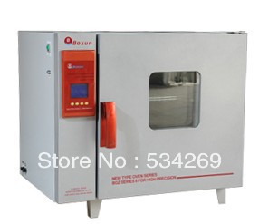 5 C to 300 C Programable Electric Heating Blast Drying Oven with Digital Display kh 101 0s pointer stainless inner drying oven constant temperature blast drier industrial drying cabinet instrument baking box
