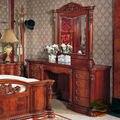Aparador De madera Maciza tocador con espejo de vanidad silla