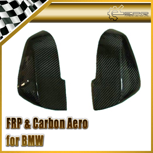 Car-styling For BMW F30 3-Series Real Carbon Fiber Mirror Cover (Stick on type) In Stock car styling for bmw m real carbon fiber handbrake cover fitting kit e87 e90 e92 e60 e63 e64 m5 m3 m tec