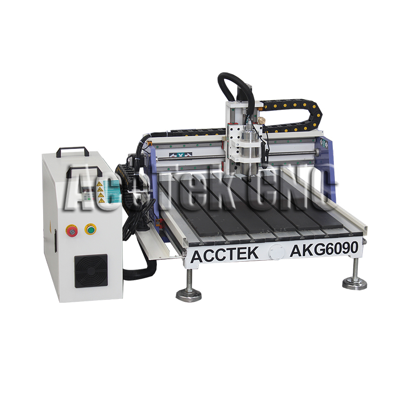 AccTek cnc advertising board engraving machine mini cnc router AKG6090AccTek cnc advertising board engraving machine mini cnc router AKG6090