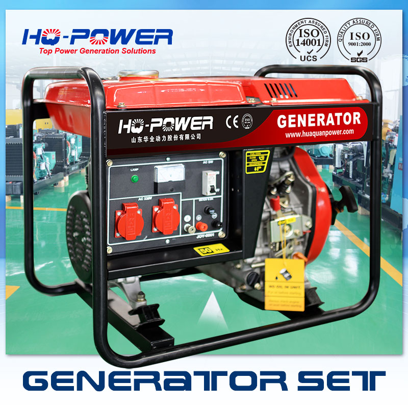 3kw mini camping use portable diesel generator