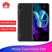 Huawei Y9 2019 enjoys 9 plus smartphone 6.5 full screen 2340x1080 Hisilicon Kirin 710 8 core Android 8.1,4000 mah 4 * camera