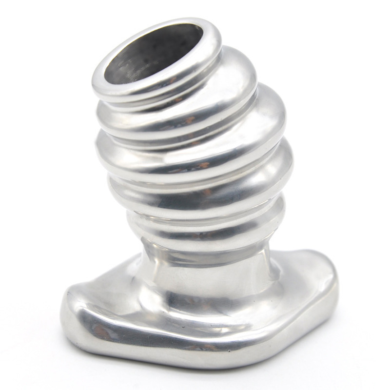 Heavy hollow anal plug metal G spot expander stainless steel butt plug anal speculum dilator sex toys for men gay buttplug male anal plug stainless steel anal hook cock ring metal butt plug sex toys for men anal beads buttplug anus dilator stimulator