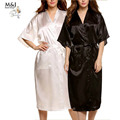 3XL Big Size Silk Robes For Women Bathrobe Satin Robe Sexy Kimono Robes Dressing Gowns For Women Robe Bathrobes Peignoir Femme