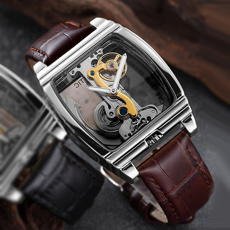 Man Watch Waterproof Mechanical Watches Men Transparent Tourbillon Automatic Mechanical Skeleton Wrist Watches Relogio MasculinoMan Watch Waterproof Mechanical Watches Men Transparent Tourbillon Automatic Mechanical Skeleton Wrist Watches Relogio Masculino