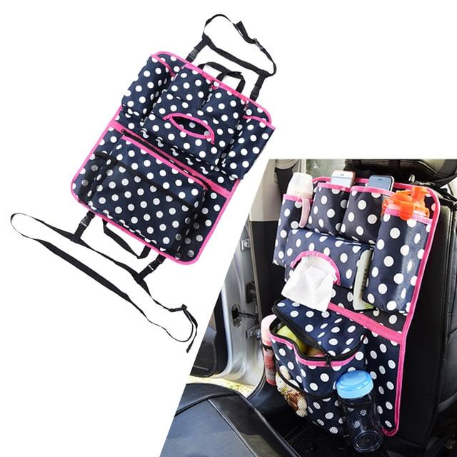 dongzhen 1x auto storage bag auto seat cover organizer holder