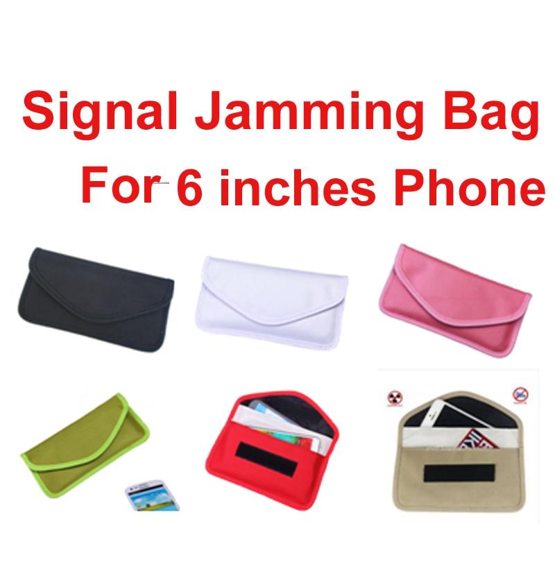 Anti-Scan Card Sleeve Bag Ok For 6