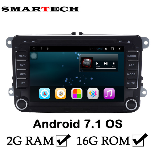 2din android 7 1 for volkswagen 2gb ram car stereo radio dvd gps car stereo radio repair at Car Stereo Radio