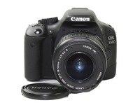 USED,Canon 550D 18MP Digital SLR Camera (Black) with EF S 18 55 IS Kit Lens, Memory Card, Camera Bag