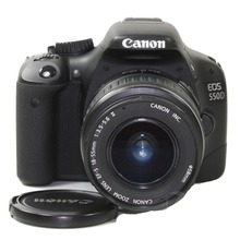 USED,Canon 550D 18MP Digital SLR Camera (Black) with EF-S 18