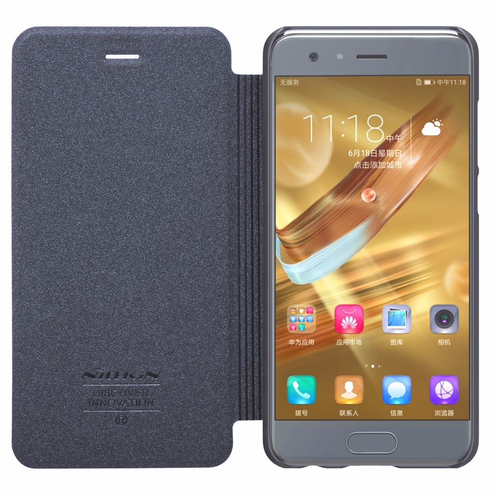Huawei Honneur 9 cas NILLKIN Étincelle Flip Super Mince Couverture En Cuir cas Huawei Honor 9 Flip cas de Couverture honor9 honneur 9 couverture