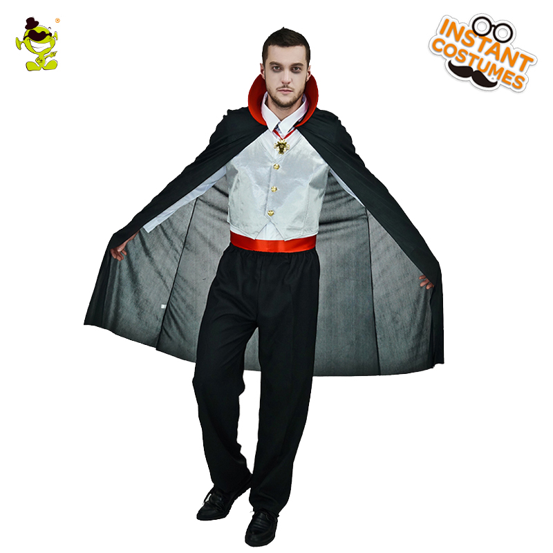 Vampire Men's Costume Masquerade Vampire Cosplay Vampire Clothes Halloween Party Cosplay Scary Vampire Costumes