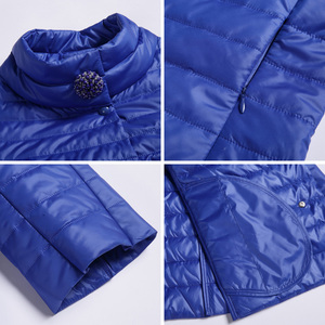 Image 5 - MIEGOFCE 2019 New Spring Short Jacket Women Fashion Coat Padded Cotton Jacket Outwear High Quality Warm Parka Womens Clothing