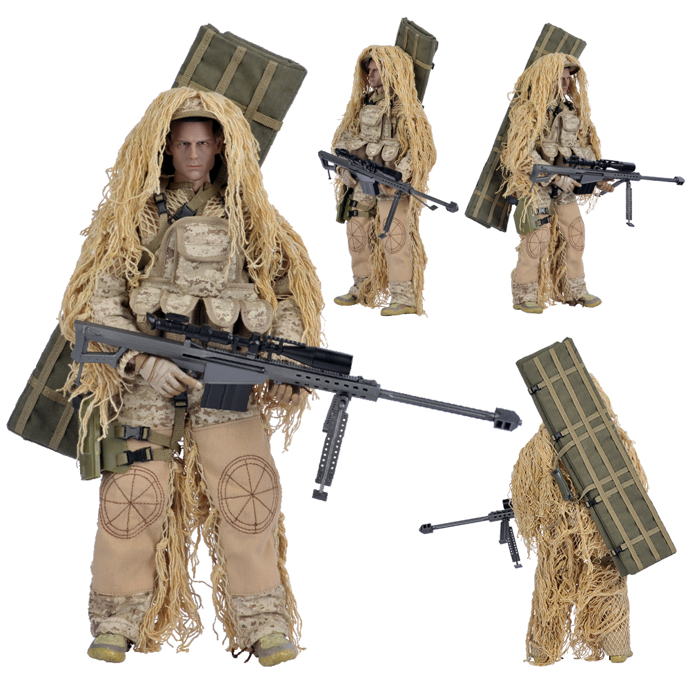 Military Police Toy Soldier Model Sniper Collection Police Figure Toy Special Force Soldier Figure Military Model For Kids Gift