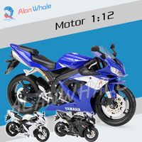 1 12 Scale New YAMAHA YZF R1 Metal Diecast Model Motorcycle Motorbike Racing Cars Toys Boys