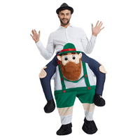 Erwachsene Unisex Maskottchen Kostüme Fahrt auf Mich Kostüm Lustige Phantasie Kleid outfit Sexy Frosch Hosen Mit Falschen Menschliches Bein freies schnelles verschiffen