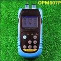 OPM607P PON medidor de potencia óptica de fibra óptica del probador de mano medidor de potencia óptica del probador de fibra de prueba en línea, 3 de longitud de onda