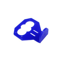 Free Shipping Cartoon Ultrasonic Sensor Mounting Bracket / HC-SR04 Ultrasonic Fasteners / Smart Car Matching (Blue)