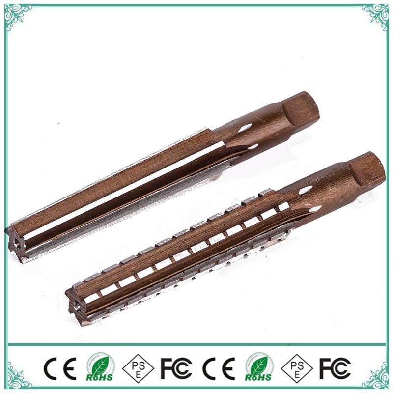 Morse 2 # Alloy Tool Stee Hand Reamer,Mohs Reamer MT2 International Standards,finishing,roughing,mechanical Lathe 2pcs