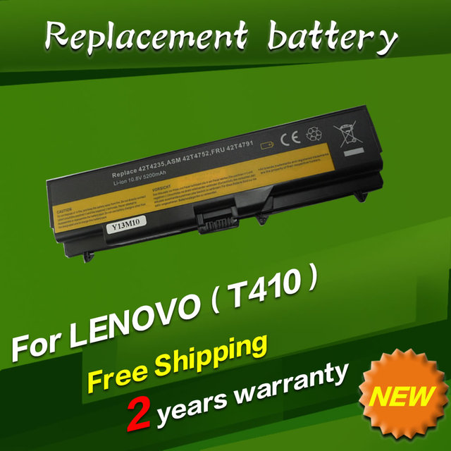 JIGU Battery For Lenovo ThinkPad Edge E40 E50 L410 L412 L420 L421 L510 L512 L520 SL410 SL510 T410 T420 T510 T520 W510 W520