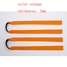 high  quality  gold  color flat rubber  band  used  for  hunting slingshot    1 pieces   packed