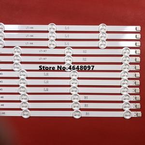 Image 3 - חדש חלק 12 יח\סט LED רצועת תחליף מושלם עבור LG47 אינץ LC470DU 47LN5200 47LN5400 47LN5700 47LN5750 47LN5700