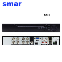Smar Newest 8Ch Full AHD TVI CVI 1080N 720P 960H CCTV Home Security AHD DVR With