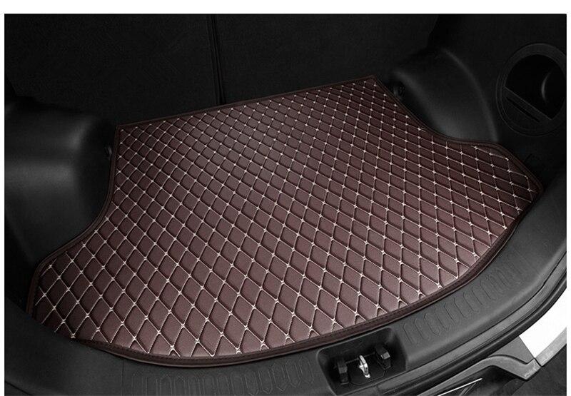 Car Rear Trunk Mat For Volkswagen Touran 2006 2015 Cargo