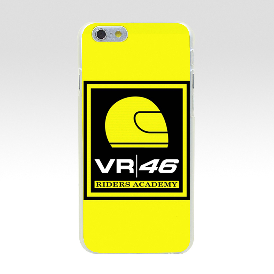 Minason Logo Vr46 Riders Academy Phone Case For iPhone 6 s 5 5S SE 6Plus 6s Plus Hard PC Cases Back Cover For iPhone 8 7 Plus