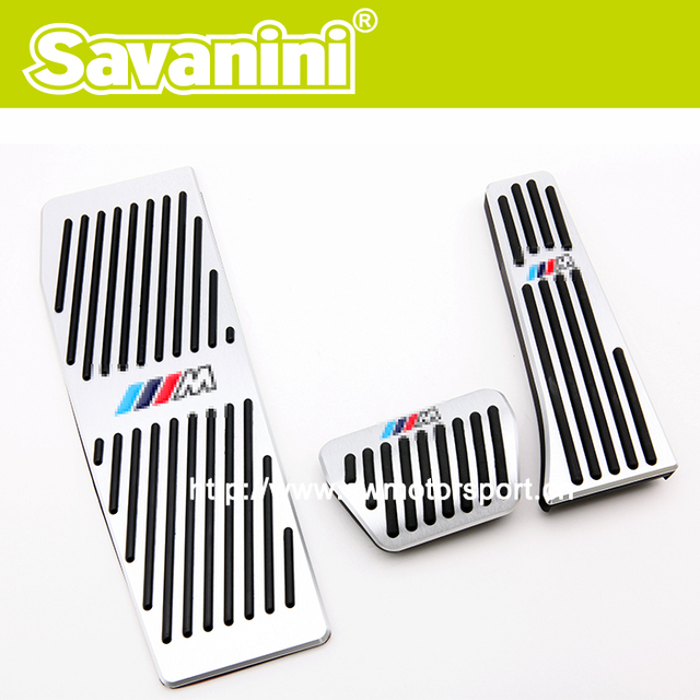 New Style Car Pedal Pad For Bmw F30 ///M AT! No Screw! Fashion Style!