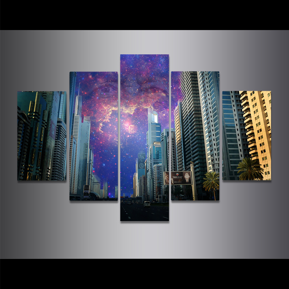 Unframed Canvas Painting The Eyes Of God Science Fiction Art Picture Prints Wall Picture For Living Room Wall Art Decoration