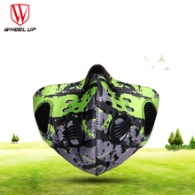 Hot Arrival autumn winter bicycle men&women windproof antihaze dust activated carbon dust mast filter new anti-fog training mask