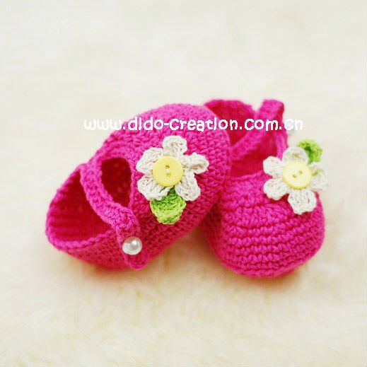 Hot Sale Ems Shipping Free 30 Pairs Handmade Crochet Baby Shoes