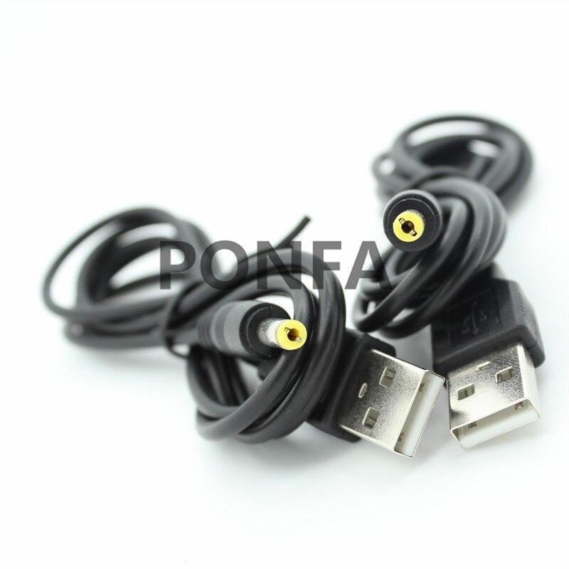 Image 2 - 1 м 3A Черный DC Шнур от вилки USB A до DC 4,0*1,7 4,0*1,7 мм 4,0 мм x 1,7 мм 4,0x1,7 мм Jack зарядный кабель 3 фута-in Кабели питания from Бытовая электроника