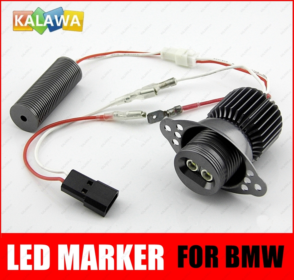 20w hight power e90 e91 lci led marker angel eyes bulb 0 8a 8 40v cree xre q5 replacement for bmw model e90 b freeshipping ggg