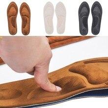 Ортопедические стельки из пены с эффектом памяти 4D, ортопедические стельки для обуви с поддержкой свода стопы, ортопедические подушки