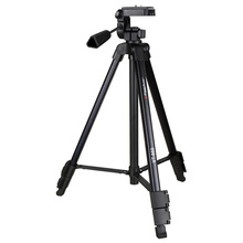 Light-weight  Plastic Tripod w/Video Head as Digicam Accent for Sony Canon smartphone Cellphone Straightforward for Out touring VT-900