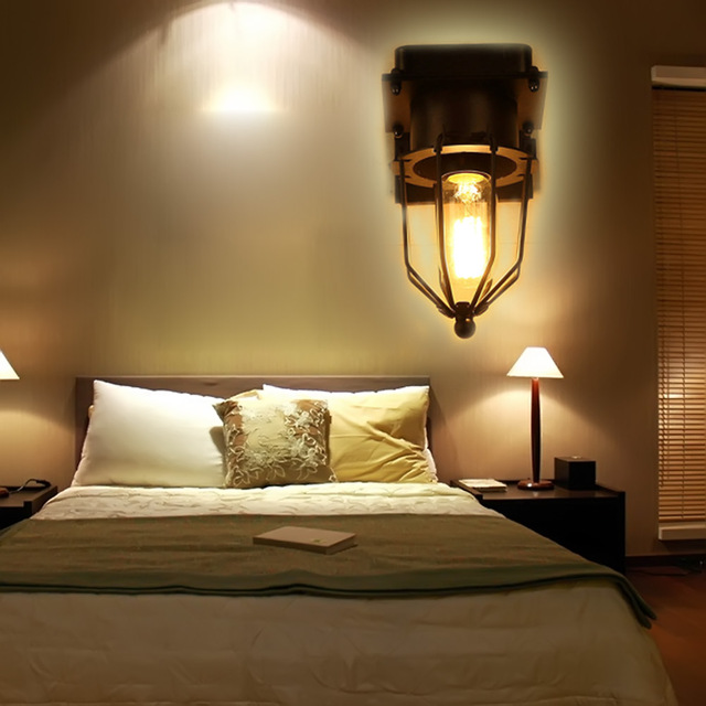 modern style bedside wall lamp bedroom stair lamp single head diamond wall lights e27 led wall - Wall Lamps For Bedroom