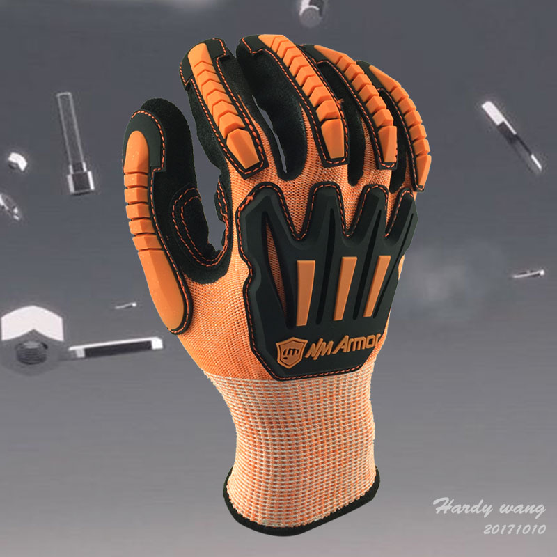 NMSafety Anti Vibration Safety Glove and Shock Resistant Glove with Anti Impact Mechanics Work Gloves 2017 nmsafety anti vibration working gloves vibration and shock gloves anti impact mechanics workgloves