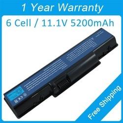 Nowy 5200 mah akumulator do laptopa AS07A75 AS 2007A dla acer Aspire AS5740 5738Z 5738G 7715Z 5740G Z01 Z03 w Akumulatory do laptopów od Komputer i biuro na