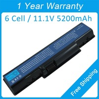 New 5200mah Laptop Battery AS07A75 AS 2007A For Acer EMACHINE D620 Aspire AS5740 5738Z 5738G 7715Z